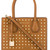 Michael Michael Kors - studded mini tote - women - Calf Leather - One Size, Brown, Calf Leather