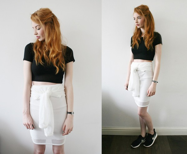 hannah louise fashion top skirt