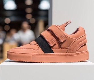 shoes sneakers trainers dope salmon