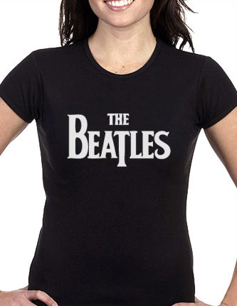 The beatles let it be - womens blue t-shirt, beatles let it be, The beatles tshirt, beatles tee shirt, blue t-shirt, gift for her LMFAODesigns out of 5 stars.