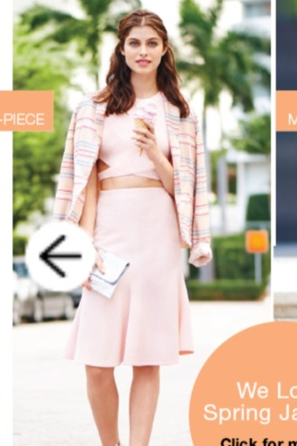 skirt pink two-piece light pink spring set girly crop tops pale high waisted skirt