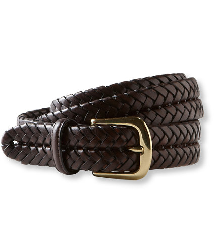 Men's Premium Braided Belt: Belts | Free Shipping at L.L.Bean