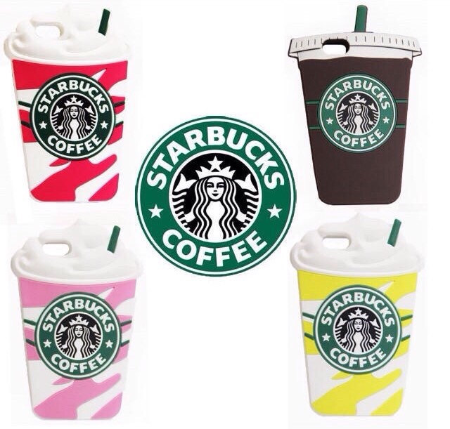 Starbucks silicone coffee cup case for iphone 5/5s/5c