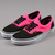 Vans Era Trainers - Neon Black/Pink at Ozzys Clothing