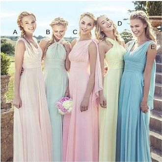 dress long bridesmaid dress bridesmaid halter bridesmaid dress chiffon bridesmaid dress custom made bridesmaid dress popular bridesmaid dress cheap bridesmaid dress halter bridesmaid dresses