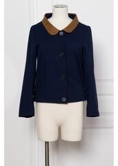 coat,leather,blue jacket,brown jacket,jacket