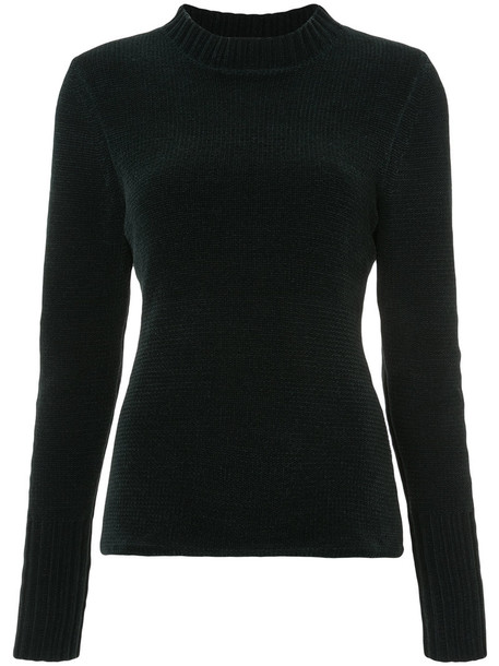 Dion Lee sweater knitted sweater women classic green