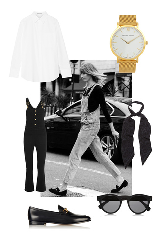 brooke testoni blogger shirt shoes jewels sunglasses