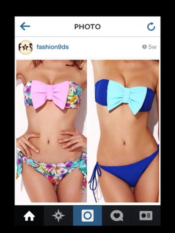 swimwear baby blue  nude pink