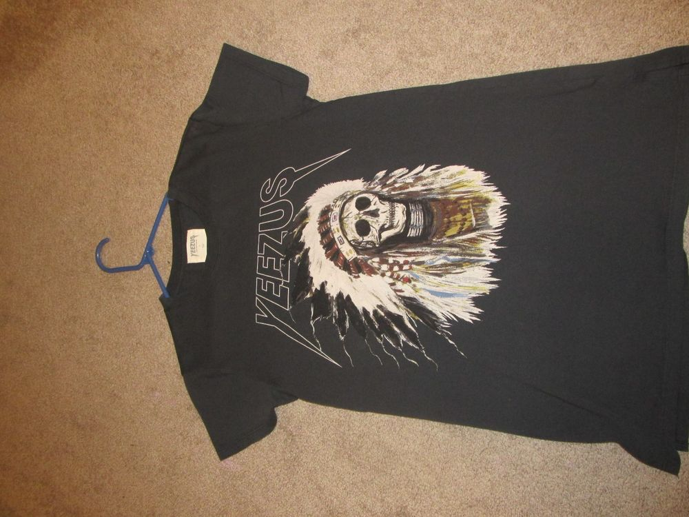 Yeezus Shirt(Kanye West Yeezy Merch Merchandise Tour T-shirt Indian Pacsun)