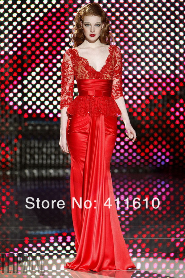 zuhair murad evening dress