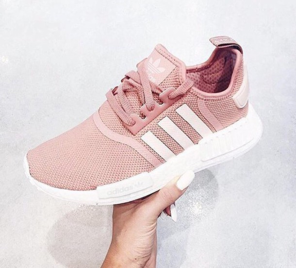 adidas nmd rose paillettes