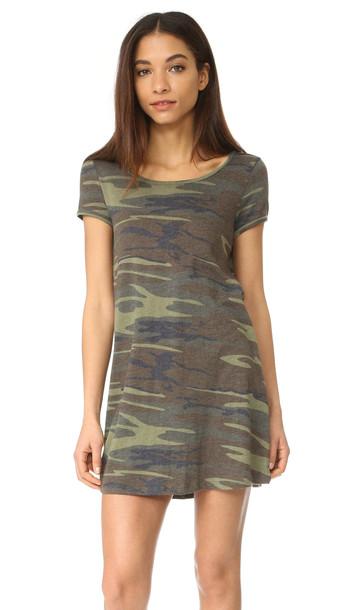 Z Supply The Connor Camo Dress - Camo Green