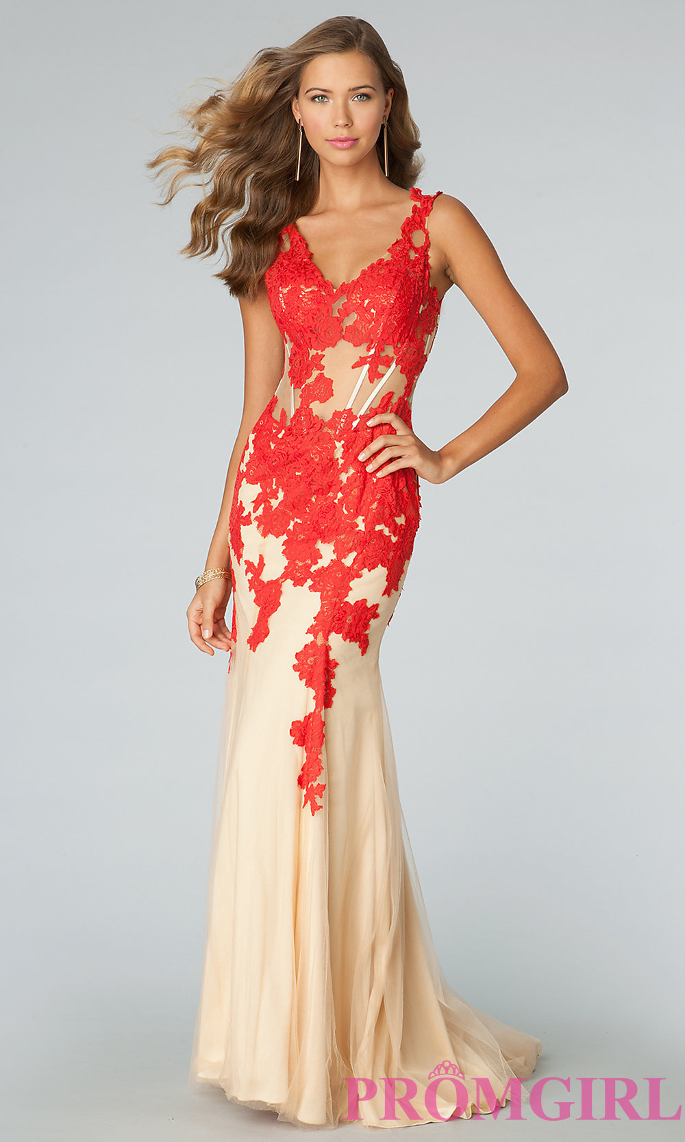 Red Lace Prom Dress Jovani – Fashion dresses
