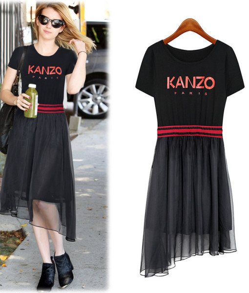 2014 Summer New European and American Women's Fashion Personality Dress Pleated Dress   Amazing Shoes UK
