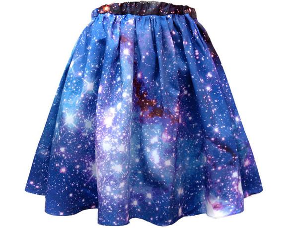 galaxy skirt skirt