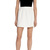 Full flippy mini skirt | Luxury Women's white | Karen Millen