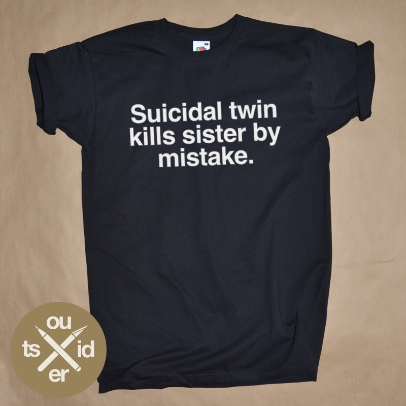 SUICIDAL TWIN KILLS SISTER BY MISTAKE / Outsider.