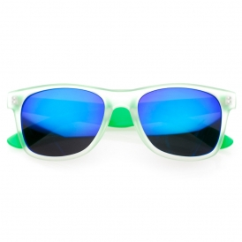 'frosty' colored revo wayfarer sunglasses | 80's | 80's Purple