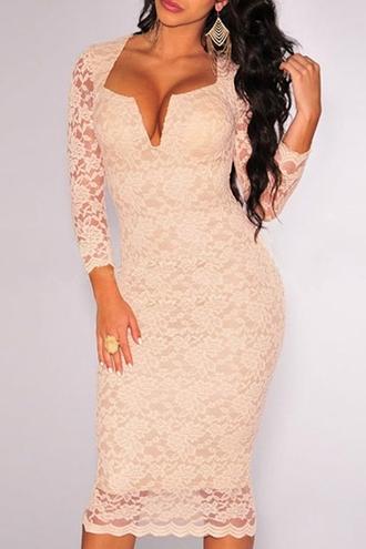 dress zaful long sleeves long sleeve dress bodycon dress long bodycon dress long sleeve bodycon dress blush blush dress