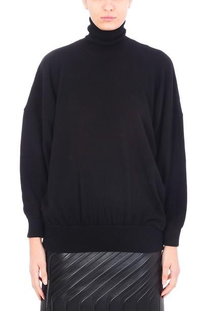 Balenciaga sweater turtle black