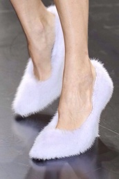 shoes,fluffy,fur,high heels,furry high heels,purple,violet