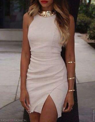 dress white dress bodycon dress short dress sexy party dresses cocktail dress