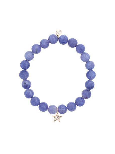 sydney evan beaded bracelet women beaded gold blue jewels
