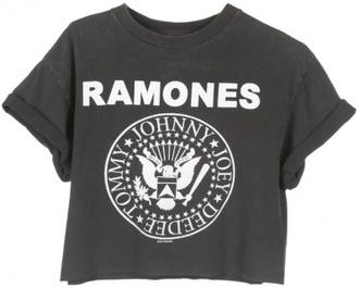 t-shirt ramones shirt vintage brand t-shirt