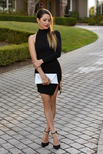 hapa time blogger make-up dress bag shoes