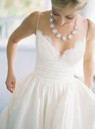 dress wedding clothes white dress deb dress wedding dress flowy