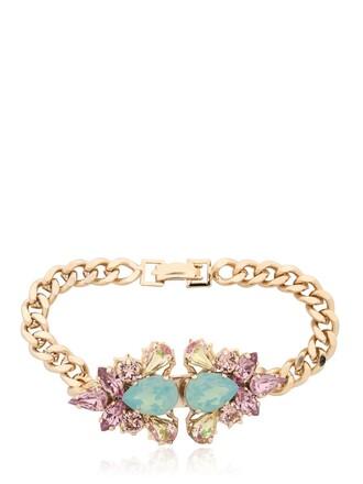 gold purple jewels
