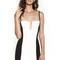 Black/white top deck stadium bustier : buy designer dresses online at nookie