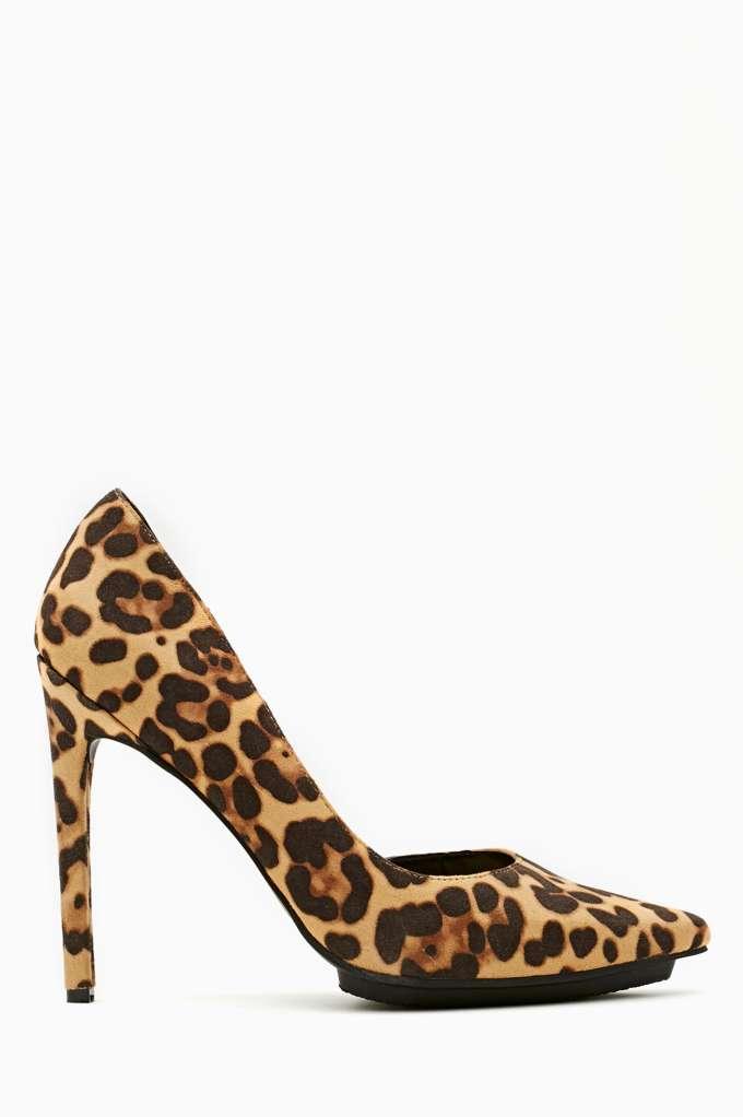 Shoe Cult Ella Pump - Leopard | Shop Sale at Nasty Gal