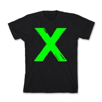 t-shirt ed sheeran tee shirt 'x' ysl