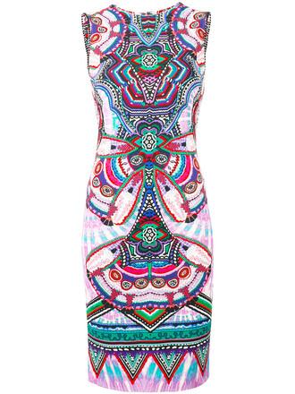 dress bodycon shift dress women spandex geometric print