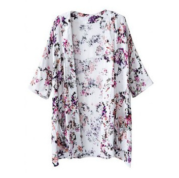 Angelica floral kimono top · luxe muse · online store powered by storenvy