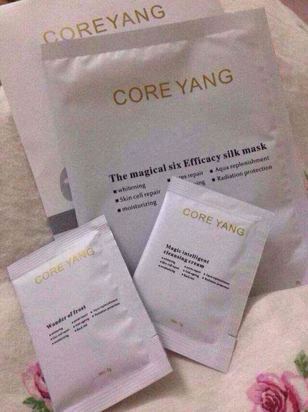 silk make-up mask whitening