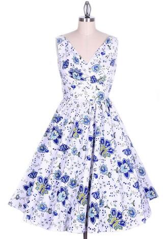 50s style long dress swing dress vintage dress pin up retro dress classic classic dress 1950s dress floral dress dress rockabilly rockabilly dress rockabilly style