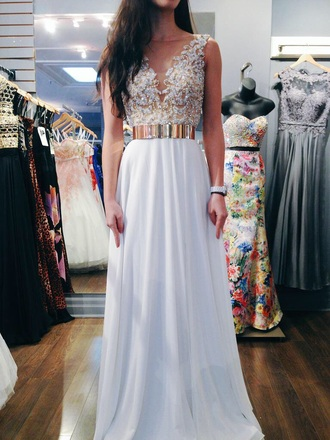 dress white gold belt gold diamonds long belted dress white dress style sparkly dress prom gold and white dress prom dress gold dress prom gown long prom dress glitter dress lacey top lace dress white and gold dress long dress white and gold white prom dress gold prom dress sweet 16 dresses belt gorgeous dress tumblr tumblr outfit tumblr clothes cute dress gold sequins elegant dress maxi dress maxi skirt fashion open back dresses open back prom dress chiffon dress wedding dress beautiful prom need help finding itt🙄