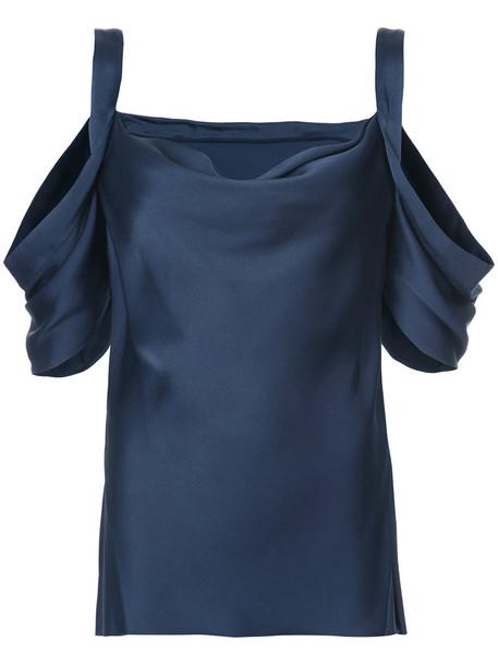 jason wu blouse women cold black top
