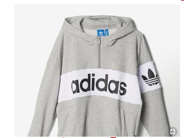 jacket grey white black and white adidas