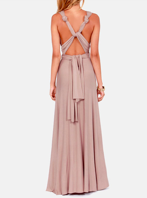 Infinity Wrap Dress