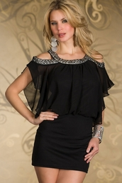 dress,cut-out,batwing sleeves,mini,black minis,chic,sexy,sexy mini,party dress,wots-hot-right-now,batwing,black dress,little black dress,mini dress,sexy mini black dress
