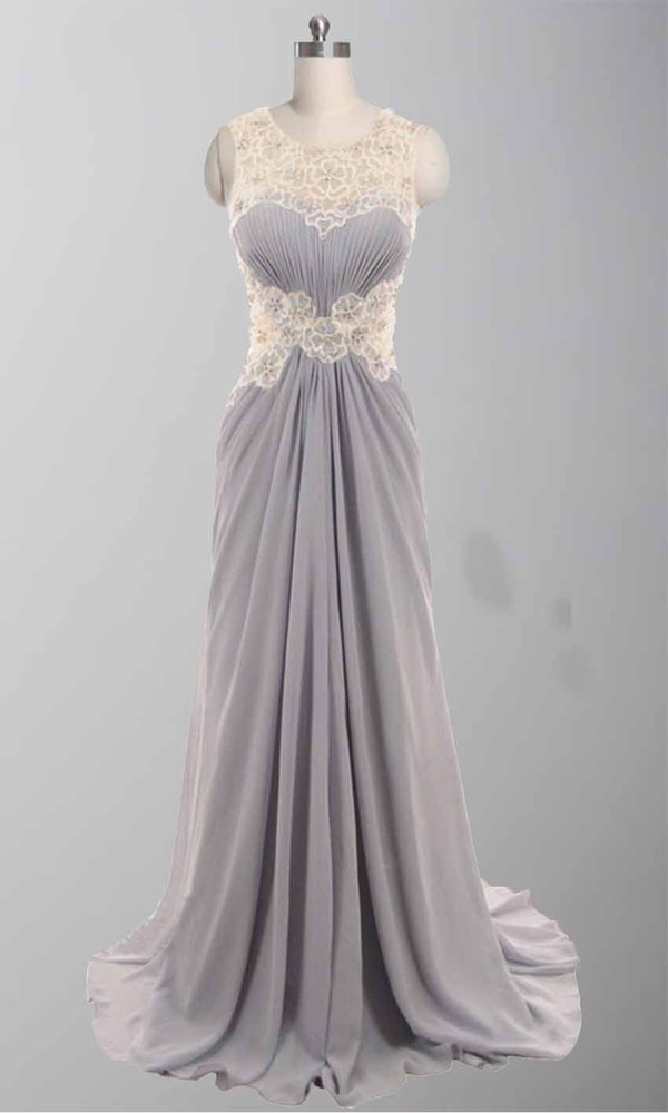 grey prom dress ruched ruched dresses long prom dress open back prom dress