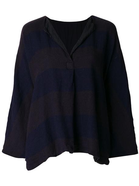 Daniela Gregis top knitted top women blue wool