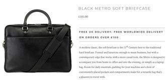 bag leather bag wallet mens bag