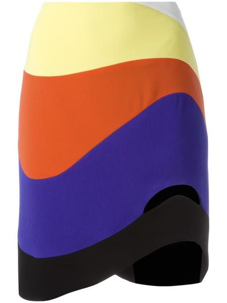 MUGLER skirt women spandex