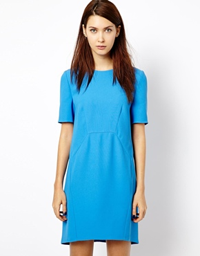 Whistles | Whistles Megan Sculptured Dress at ASOS