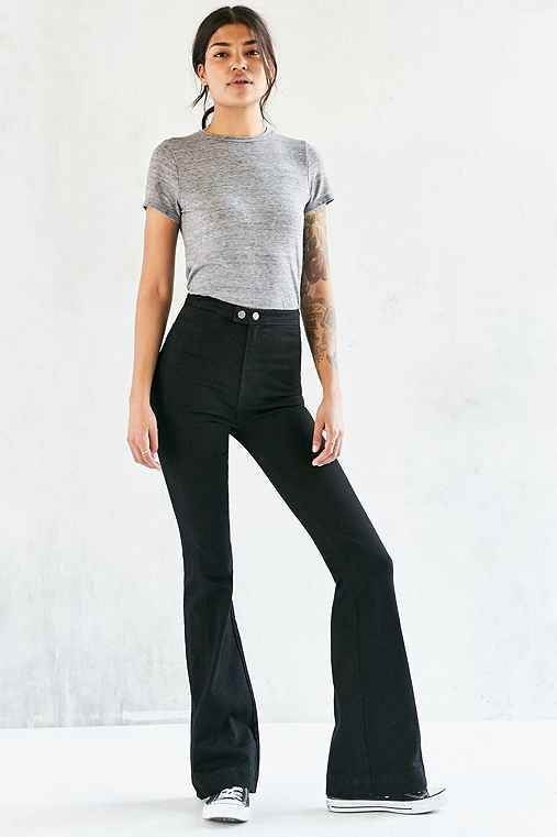 Farrah High-Rise Flare Jean - Urban Outfitters